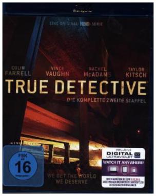 True Detective, 3 Blu-rays + Digital UV. Staffel.2