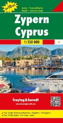 Freytag & Berndt Autokarte Zypern