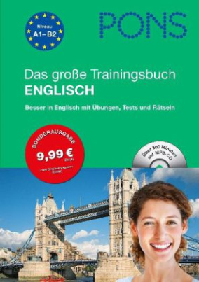 PONS Das große Trainingsbuch Englisch, m. MP3-CD