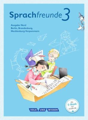 3. Schuljahr, Sprachbuch mit Grammatiktafel und Entwicklungsheft
