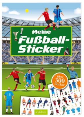 Mein Sticker-Fußballbuch