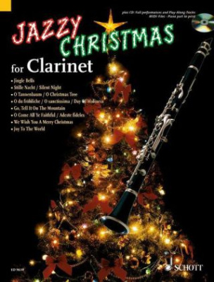 Jazzy Christmas for Clarinet, m. Audio-CD