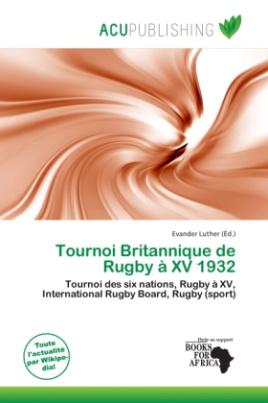 Tournoi Britannique de Rugby à XV 1932