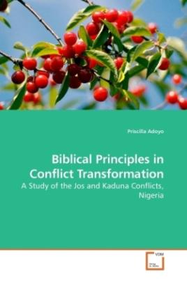 Biblical Principles in Conflict Transformation
