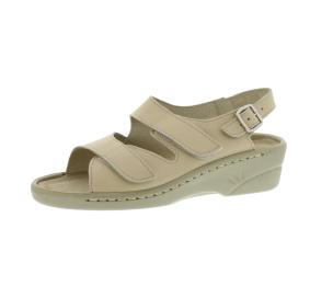 Sandalen aus Vollrindleder Größe 39