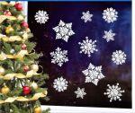 3D-Stickerset Weihnachtsbaum + Stern