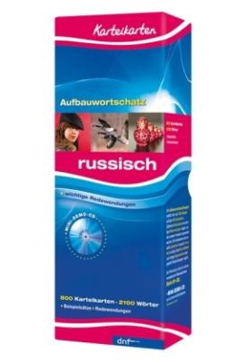 Karteikarten Grundwortschatz Russisch, m. Mini-Demo-CD-ROM