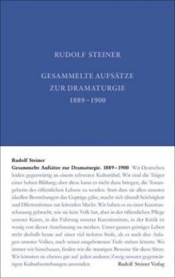 Gesammelte Aufsätze zur Dramaturgie 1889-1900