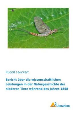 Bericht über die wissenschaftlichen Leistungen in der Naturgeschichte der niederen Tiere während des Jahres 1858