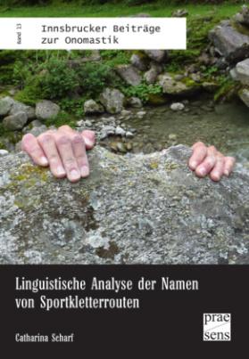Linguistische Analyse der Namen von Sportkletterrouten