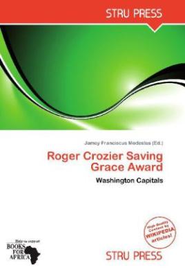 Roger Crozier Saving Grace Award