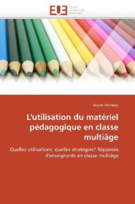 L'utilisation du matériel pédagogique en classe multiâge