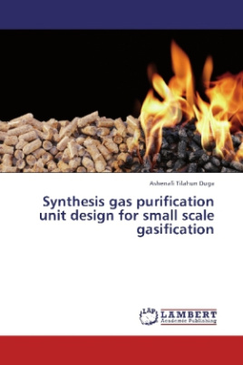 Synthesis gas purification unit design for small scale gasification