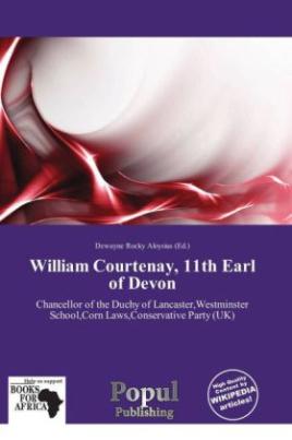 William Courtenay, 11th Earl of Devon