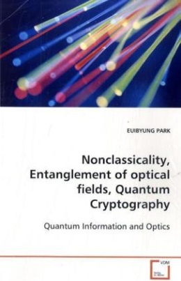 Noncalssicality, Entanglement of optical fields, Quantum Cryptography