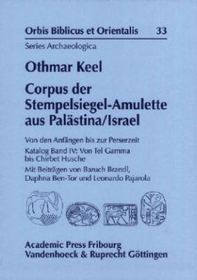 Corpus der Stempelsiegel-Amulette aus Palästina/Israel