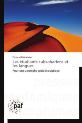 Les étudiants subsahariens et les langues