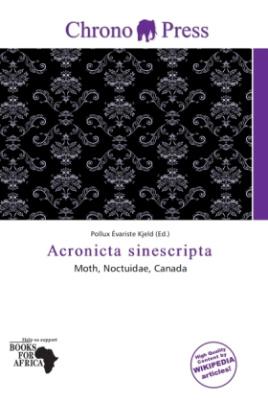 Acronicta sinescripta