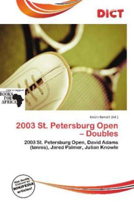2003 St. Petersburg Open - Doubles