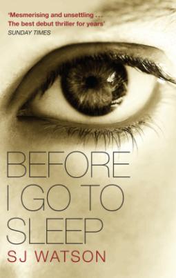 Before I Go To Sleep. Ich.darf.nicht.schlafen, englische Ausgabe