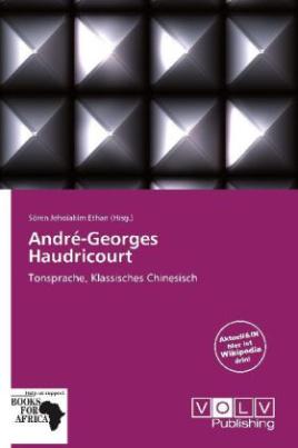 André-Georges Haudricourt