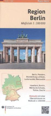 Regionalkarte Region Berlin