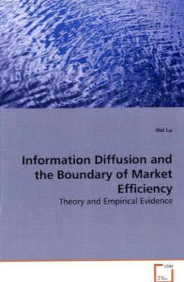 Information Diffusion and the Boundary of Market Efficiency