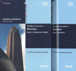 Handbuch Eurocode 2 - Betonbau, 2 Bde.. Bd.1-2