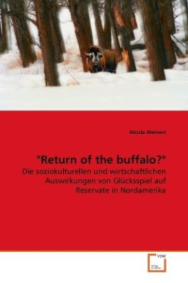 """Return of the buffalo?"""