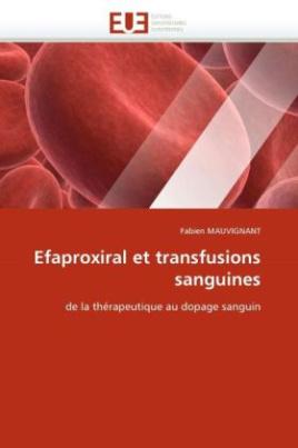 Efaproxiral et transfusions sanguines