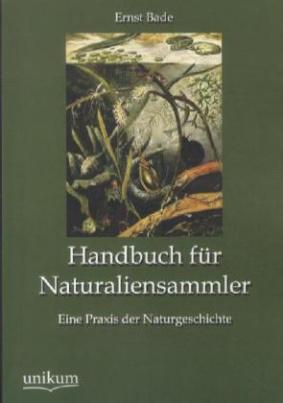 Handbuch für Naturaliensammler