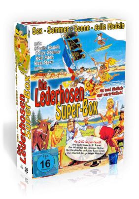 Die Lederhosen Super Box - 4er Schuber