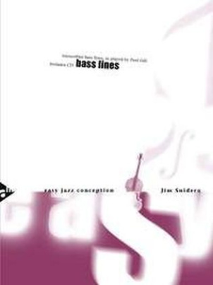 Easy Jazz Conception Bass Lines, Bass, w. Audio-CD