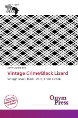 Vintage Crime/Black Lizard
