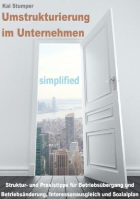 Umstrukturierung im Unternehmen - simplified