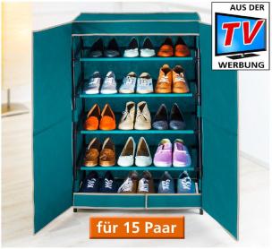 Schuhschrank BREEZE 15 Paar Schuhe