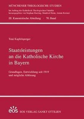 Staatsleistungen an die Katholische Kirche in Bayern