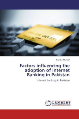 Factors influencing the adoption of Internet Banking in Pakistan