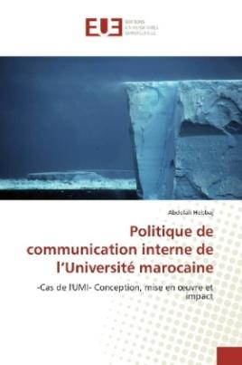 Politique de communication interne de l'Université marocaine