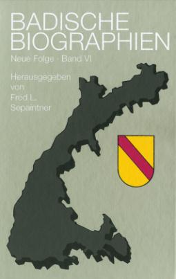 Badische Biographien, Neue Folge. Bd.6