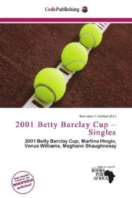 2001 Betty Barclay Cup - Singles