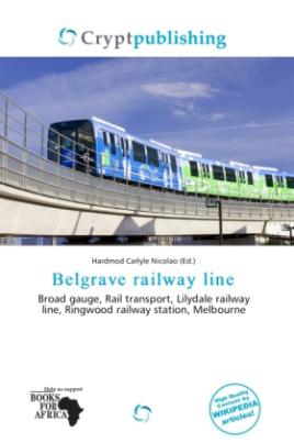Belgrave railway line