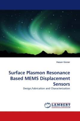 Surface Plasmon Resonance Based MEMS Displacement Sensors