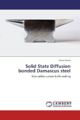 Solid State Diffusion bonded Damascus steel