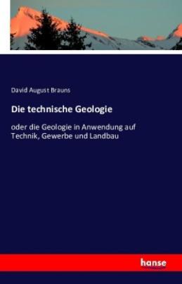 Die technische Geologie