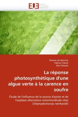 La réponse photosynthétique d'une algue verte à la carence en soufre