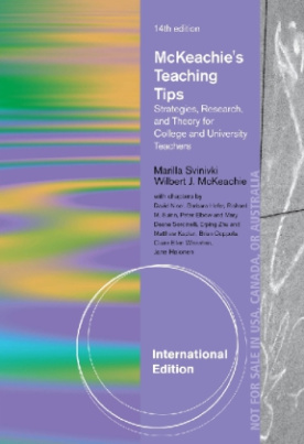 McKeachie's Teaching Tips, International Edition