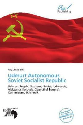 Udmurt Autonomous Soviet Socialist Republic