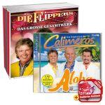 Calimeros - Aloha + LIMITIERTES Halstuch + Die Flippers - Das große Gesamtwerk