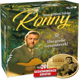 Seine größten Erfolge + LIMITIERTE Ronny Münze